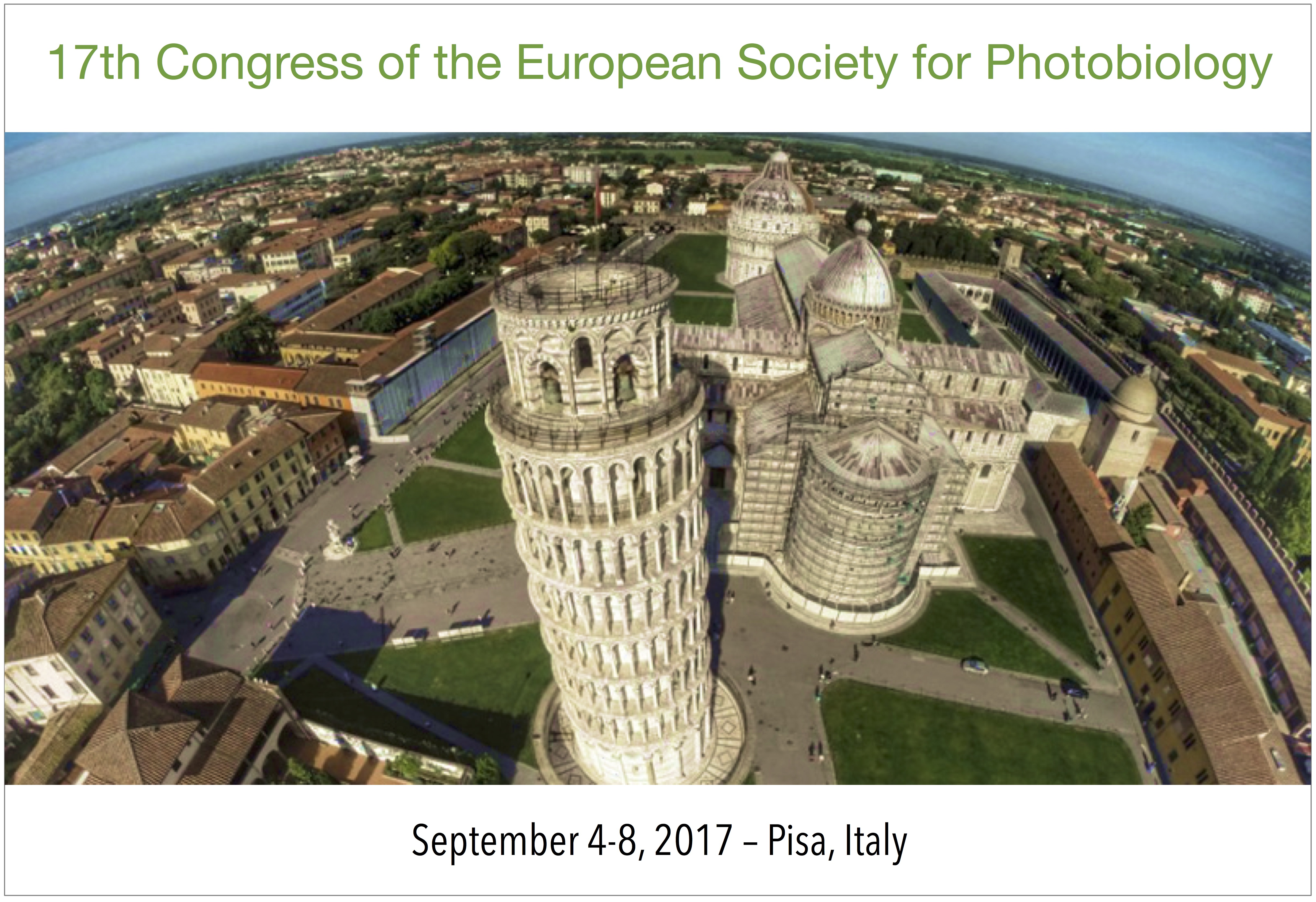 17th Congress of the European Society for Photobiology